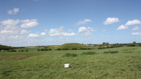 Image result for Largest Iron Age monument found at Skipsea Castle