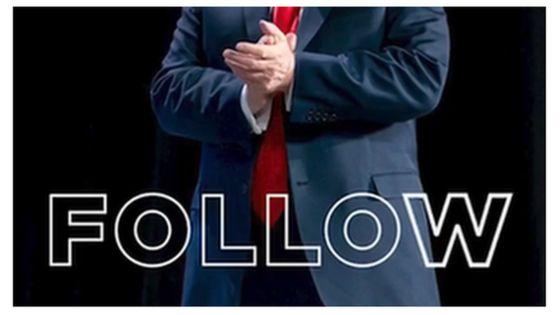 Screengrab from Trump Triller video