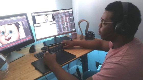 Ere Santos is a movie animator