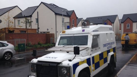 Cantrell Close: Two arrested over Catholic intimidation