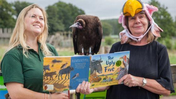 Gruffalo author Julia Donaldson in safari park preview