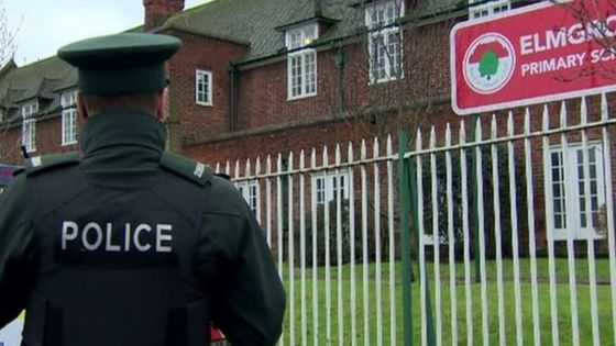 Elmgrove Primary School shuts after 'threatening calls'