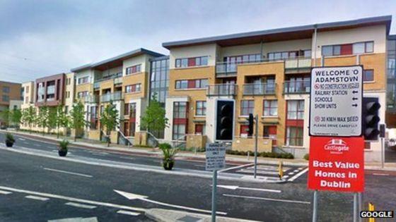 Irish Recession Inside An Empty Town Bbc News