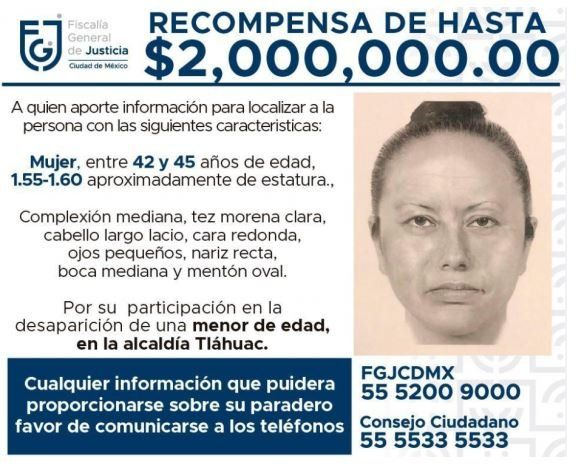 Photo released by the prosecutor's office of the suspect in the disappearance of Fátima Aldrighett