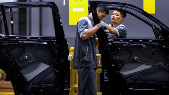 Car manufacturing in VN