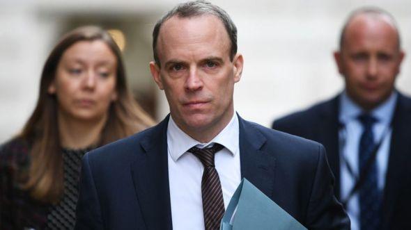 Bộ trưởng Ngoại giao Anh Dominic Raab