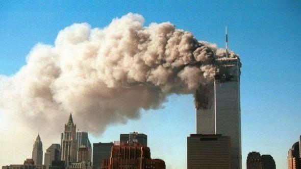 Ataque de 11 de Setembro no World Trade Center, em Nova York