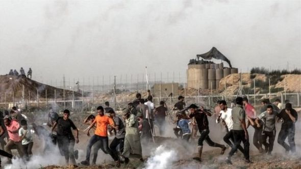 The weekly protests along the Gaza-Israel border fence have been taking place since March