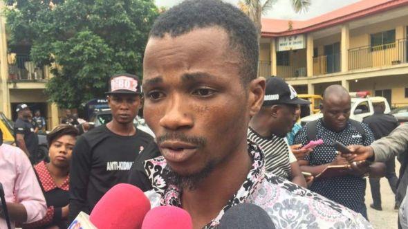Masu laifi da 'yan sanda Lagos suka kama