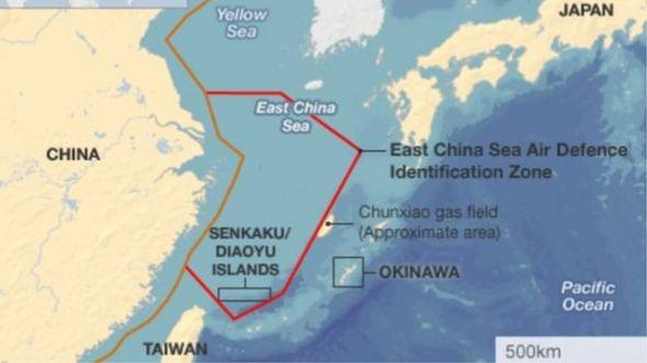 Trung Quốc từng công bố vào năm 2013 vùng ADIZ của mình với khu vực Biển Hoa Đông