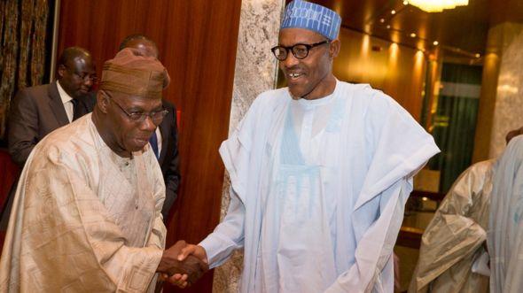 Buhari da Obasanjo