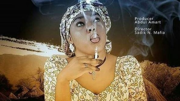 Fati Abubakar ta saba fitowa a fina-finan mugunta