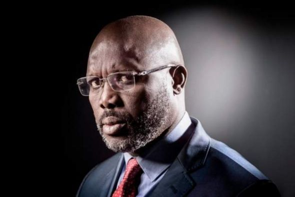 Ex-football star George Weah was elected president of Liberia in December