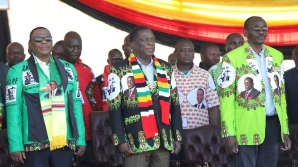 Shugaban Zimbabwe Emmerson Mnangagwa