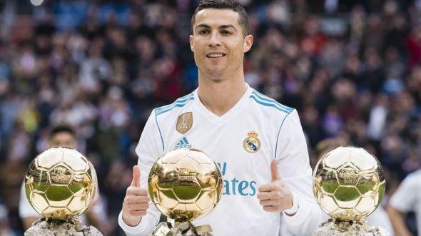 Ronaldo da lambar yabo ta Ballon d'Or