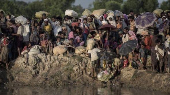 Sojin Bama sun daidaita kauyukan jihar Rakhine
