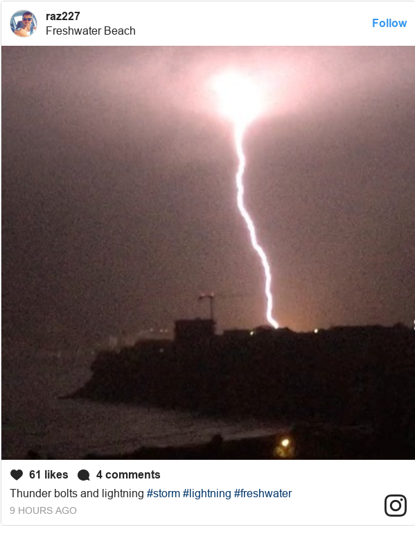 Instagram Post By Raz227 Thunder Bolts And Lightning Storm Freshwater