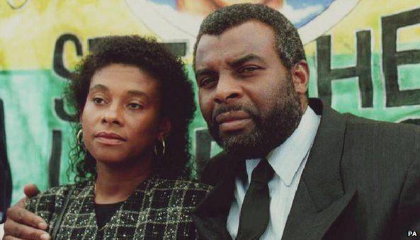 Stephen Lawrence parents