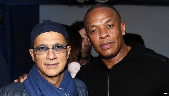 Jimmy Iovine and Dr Dre