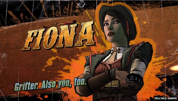 Fiona from Tales from the Borderlands