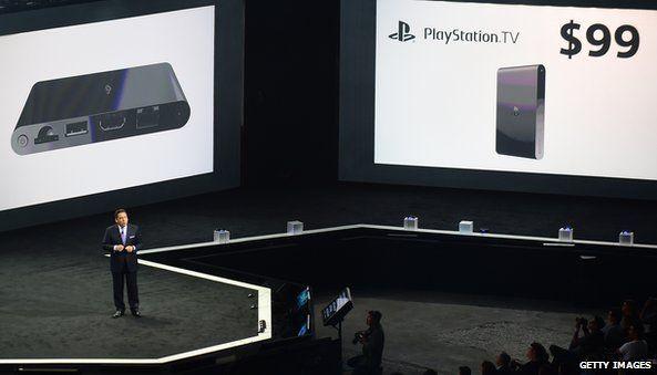 Sony launch PlayStationTV