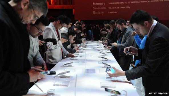 Samsung Galaxy launch