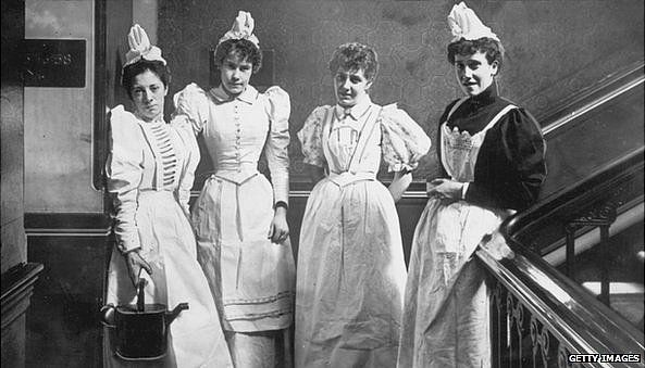 London maids, 1894