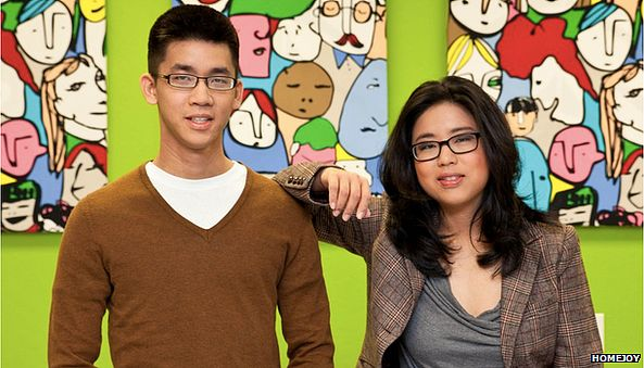 Aaron and Adora Cheung