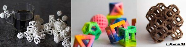 3D printed sweets