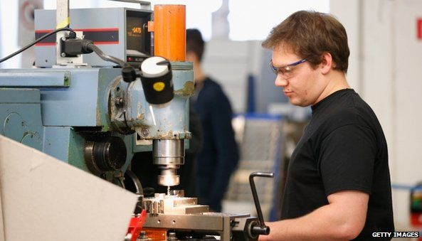 Engineer in a Berlin factory