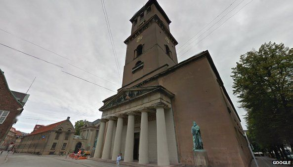 Church of Our Lady, Google Maps