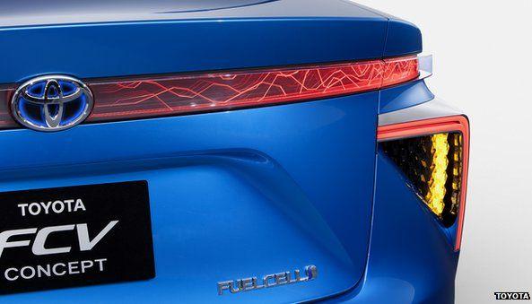 Toyota's FCV concept car
