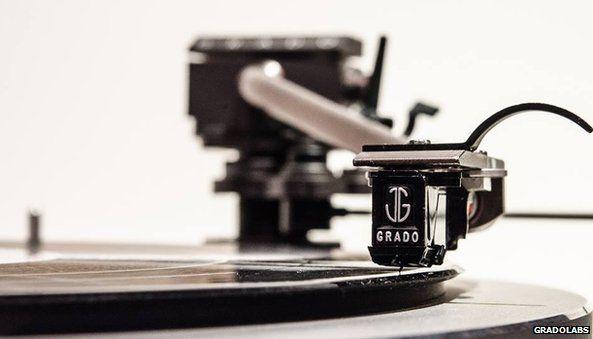 Grado phonograph cartridge