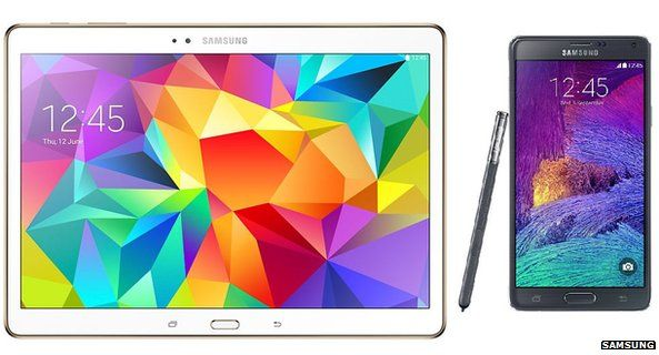 Galaxy Tab S 10.5 and Galaxy Note 4