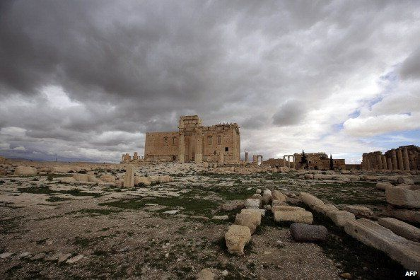 Temple of Bel (March 2014)
