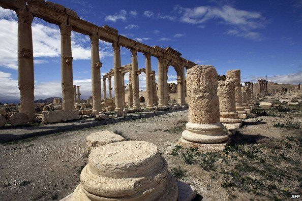 Palmyra ruins (March 2014)