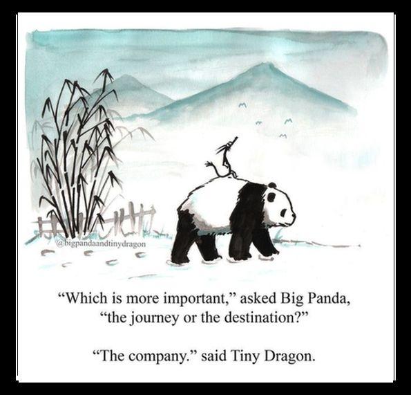 Big Panda Tiny Dragon picture by James Norbury