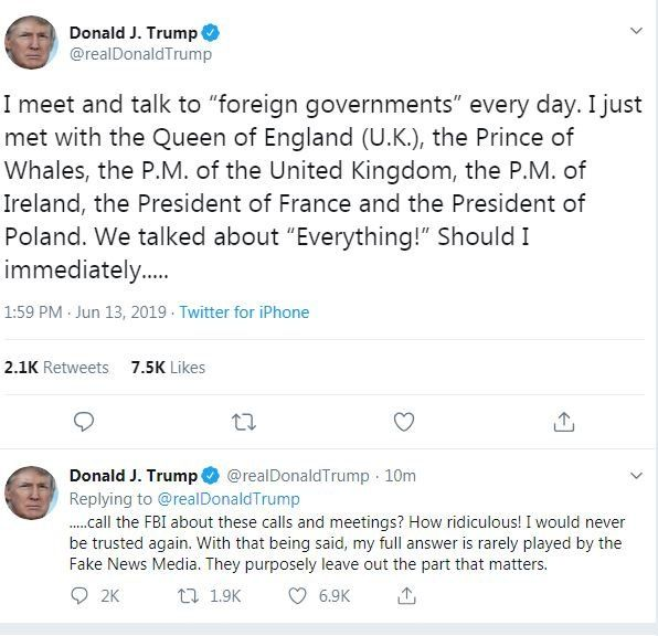 Donald Trump Us President In Prince Of Whales Twitter Error Bbc News