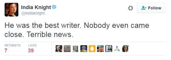 India Knight tweet