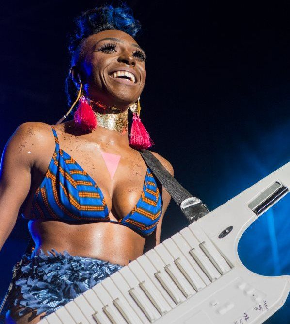 Singer Laura Mvula performing at AfroPunk Johannesburg