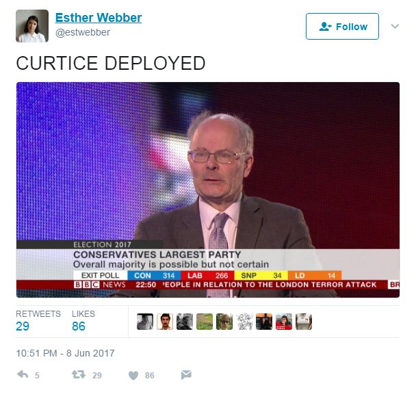 "Tweet: ""CURTICE DEPLOYED"""