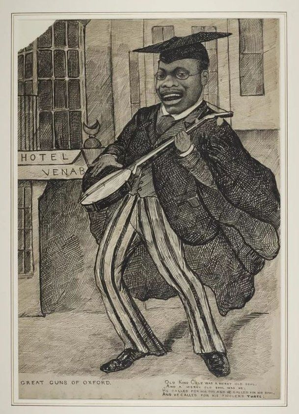 Cartoon of Christian Cole