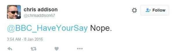 @BBC_HaveYourSay Nope.