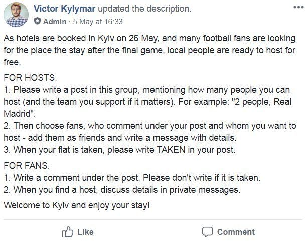Screenshot from Facebook by Victor Kylymar
