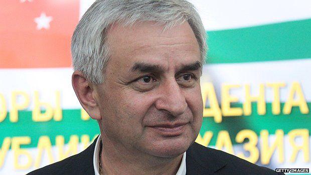 Abkhaz president Raul Khadzhimba
