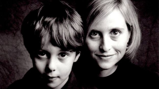 This undated photo provided by Nashville Mayor Megan Barry shows her and her son, Max, at a young age.