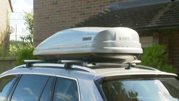 صندوق سقف السيارة