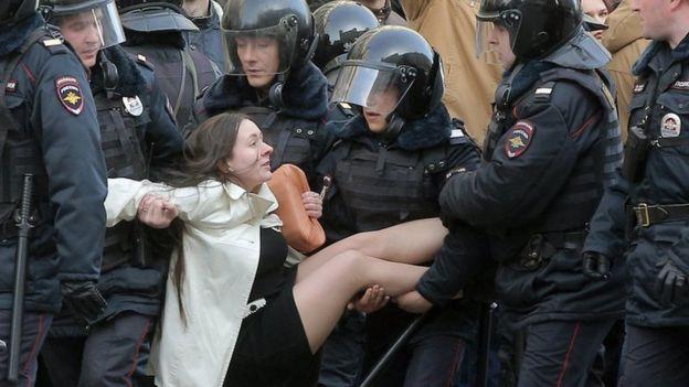 Resultado de imagen para 2017 dia de rusia protestas