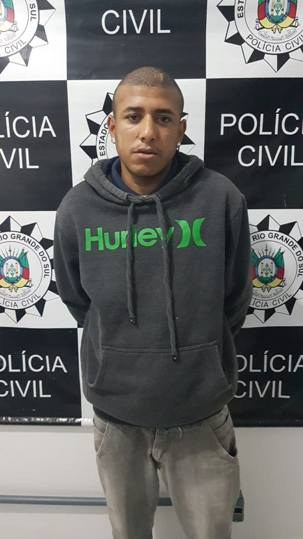 Natanael Nunes Domingues, indiciado e denunciado por feminicídio em Rio Grande