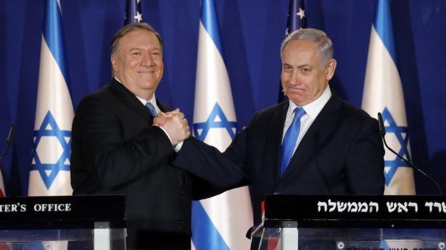 نتانیاهو و پومپئو